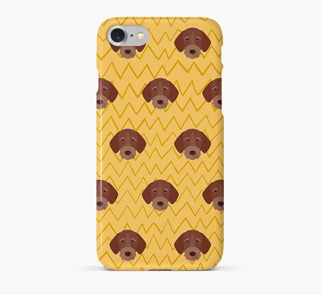 Icon & Sketch German Wirehaired Pointer Phone Case