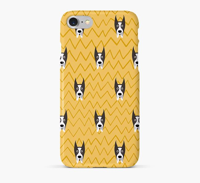 Icon & Sketch Great Dane Phone Case