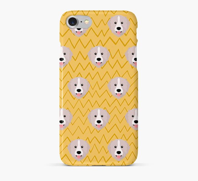 Icon & Sketch Great Pyrenees Phone Case