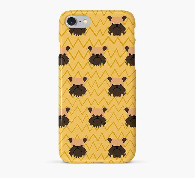 Icon & Sketch Griffon Bruxellois Phone Case