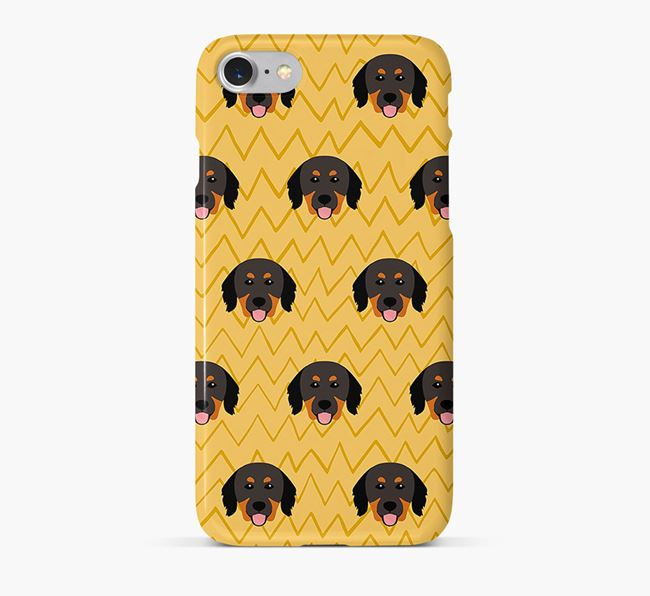 Icon & Sketch Hovawart Phone Case