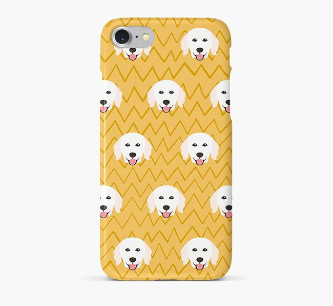 Icon & Sketch Hungarian Kuvasz Phone Case