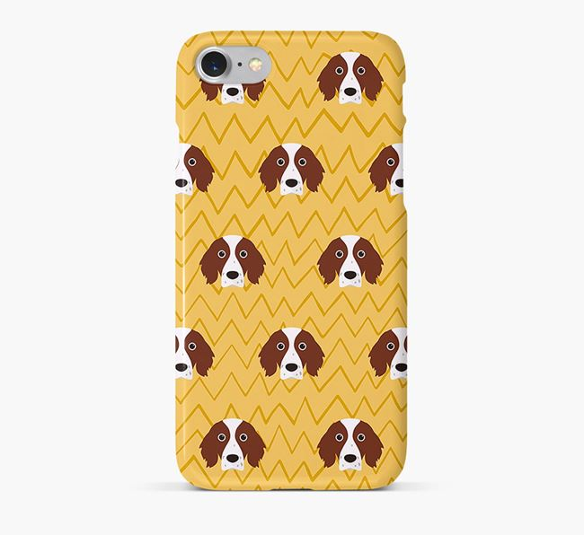Icon & Sketch Irish Red & White Setter Phone Case