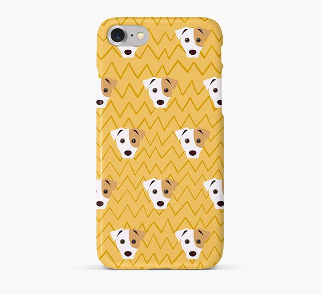 Icon & Sketch Jack Russell Terrier Phone Case