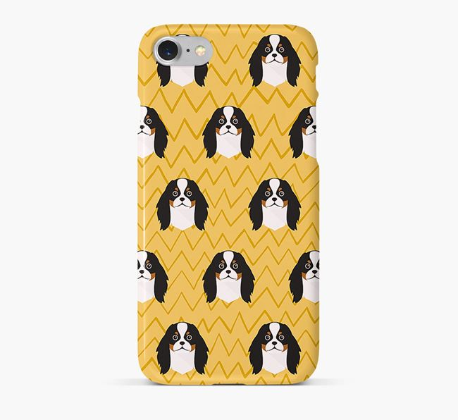 Icon & Sketch Japanese Chin Phone Case