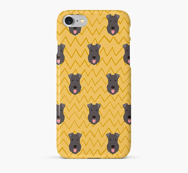Icon & Sketch Kerry Blue Terrier Phone Case