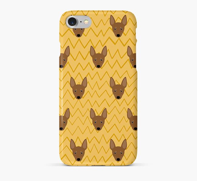Icon & Sketch Manchester Terrier Phone Case