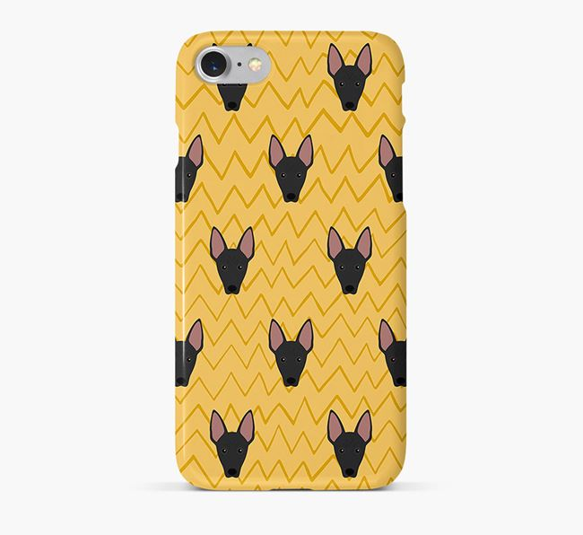Icon & Sketch Mexican Hairless Phone Case