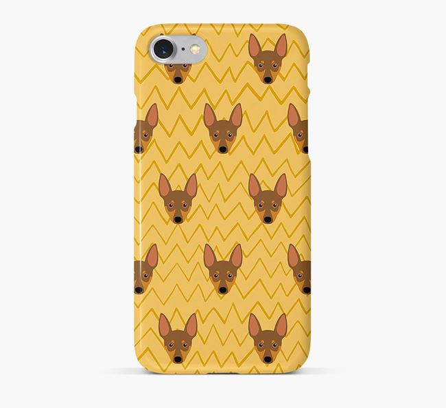 Icon & Sketch Miniature Pinscher Phone Case
