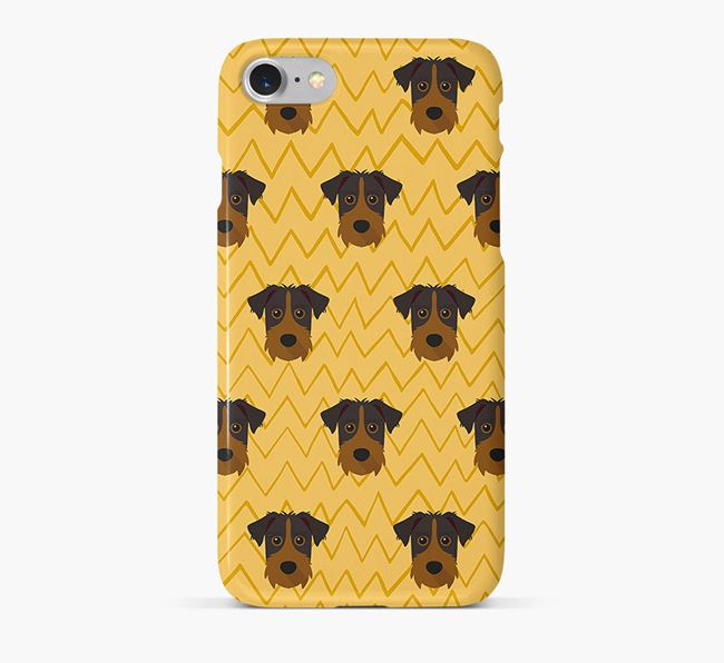 Icon & Sketch Patterdale Terrier Phone Case