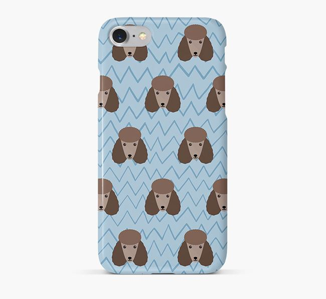 Icon & Sketch Poodle Phone Case