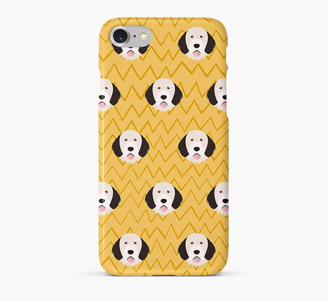 Icon & Sketch Portuguese Water Dog Phone Case