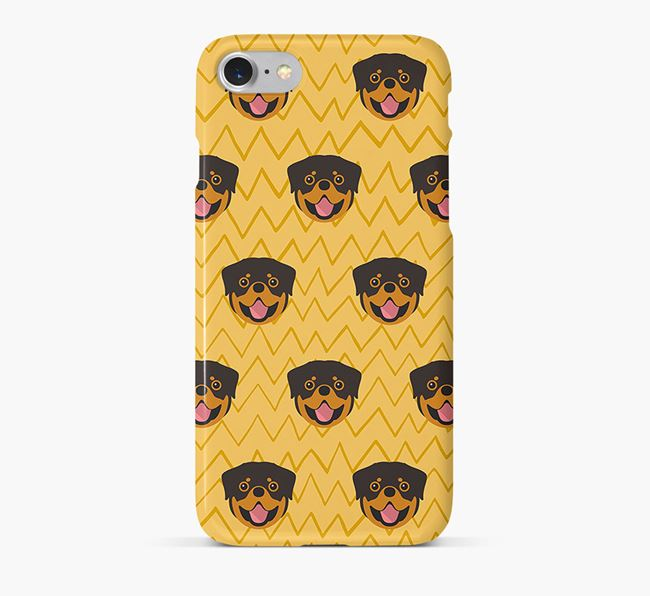 Icon & Sketch Dog Phone Case