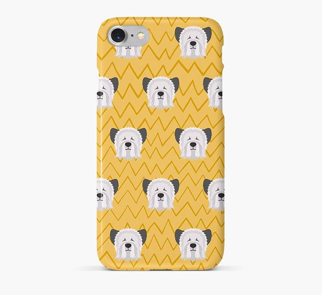 Icon & Sketch Skye Terrier Phone Case
