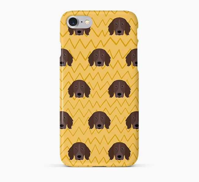 Icon & Sketch Small Munsterlander Phone Case