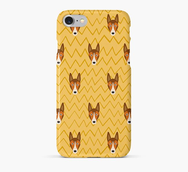 Icon & Sketch Smooth Collie Phone Case