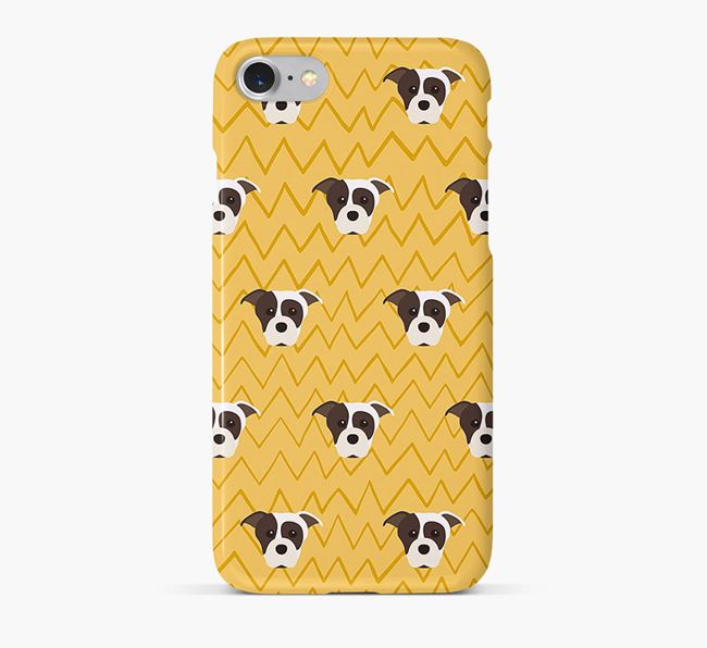 Icon & Sketch Staffordshire Bull Terrier Phone Case