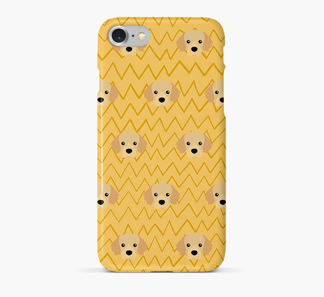 Icon & Sketch Tibetan Spaniel Phone Case
