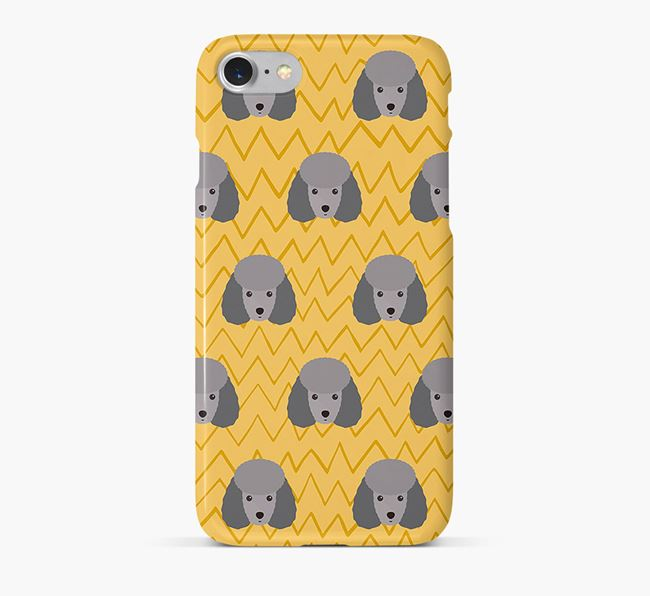 Icon & Sketch Toy Poodle Phone Case