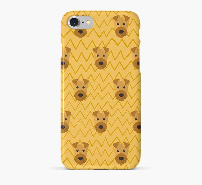 Icon & Sketch Welsh Terrier Phone Case