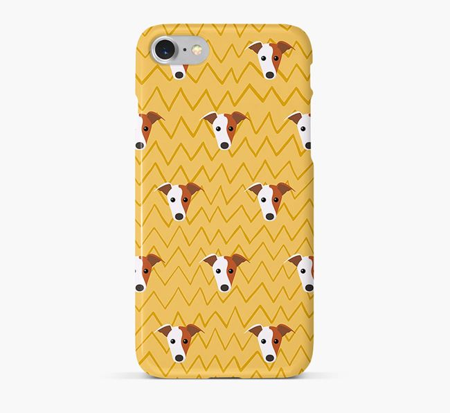 Icon & Sketch Whippet Phone Case