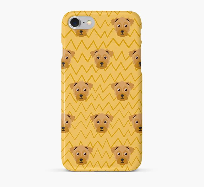 Icon & Sketch Yorkie Russell Phone Case