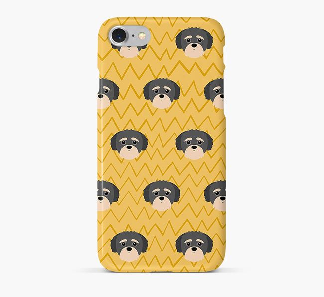Icon & Sketch Yorkipoo Phone Case