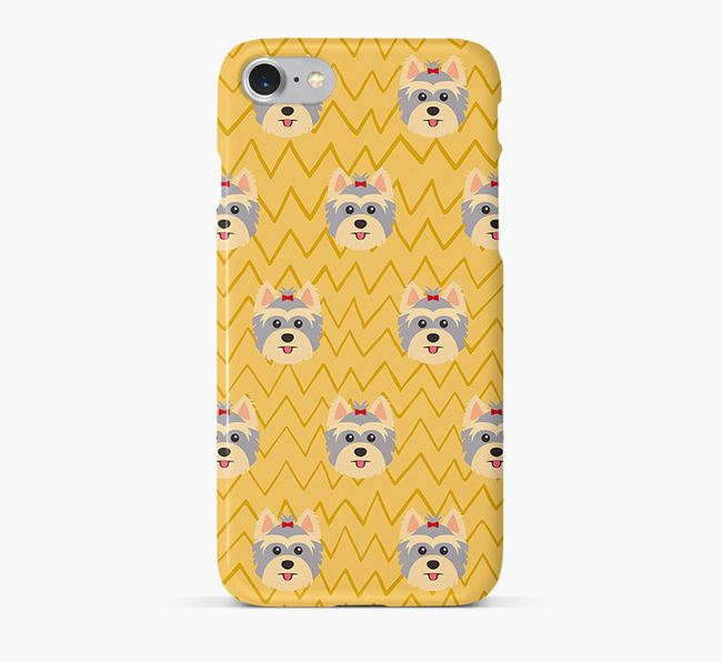 Icon & Sketch Yorkshire Terrier Phone Case