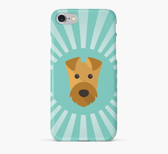 Airedale Terrier Rays Phone Case