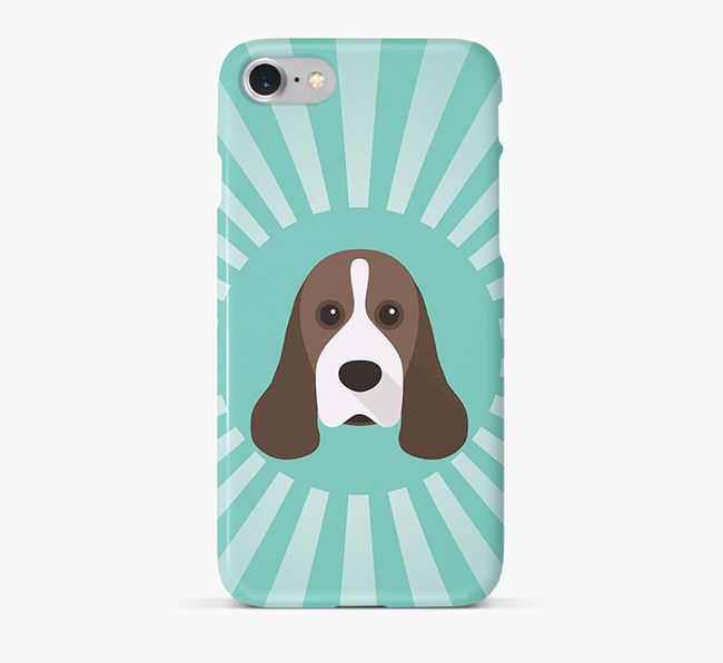 American Cocker Spaniel Rays Phone Case