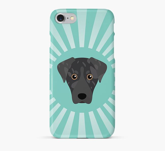 American Leopard Hound Rays Phone Case
