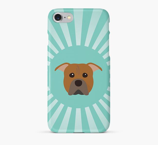 American Pit Bull Terrier Rays Phone Case