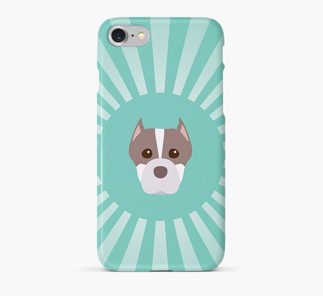 American Staffordshire Terrier Rays Phone Case