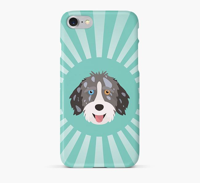 Aussiedoodle Rays Phone Case
