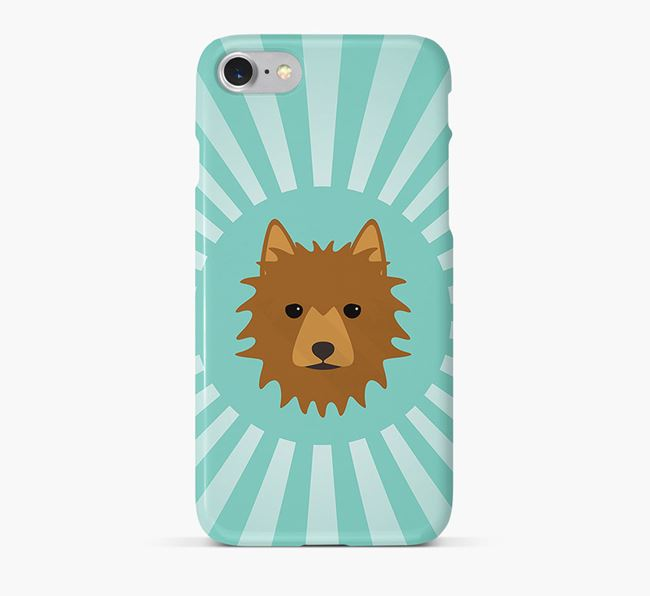 Australian Terrier Rays Phone Case