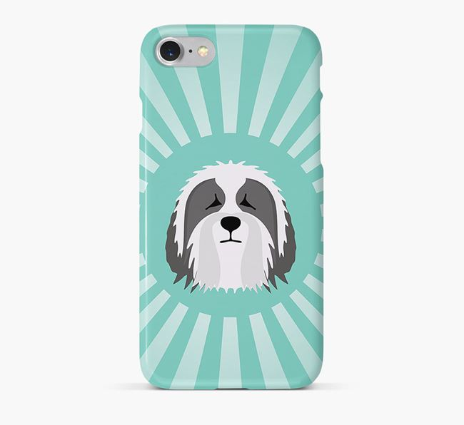 Bearded Collie Rays Phone Case