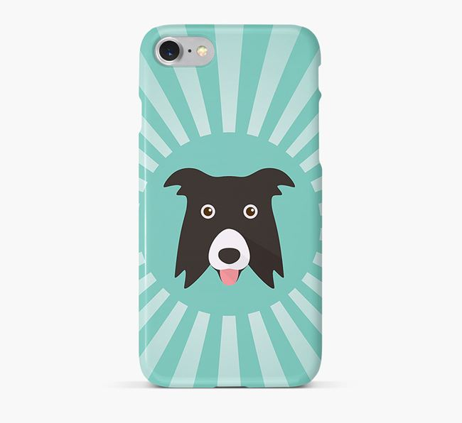 Border Collie Rays Phone Case