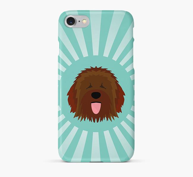 Catalan Sheepdog Rays Phone Case