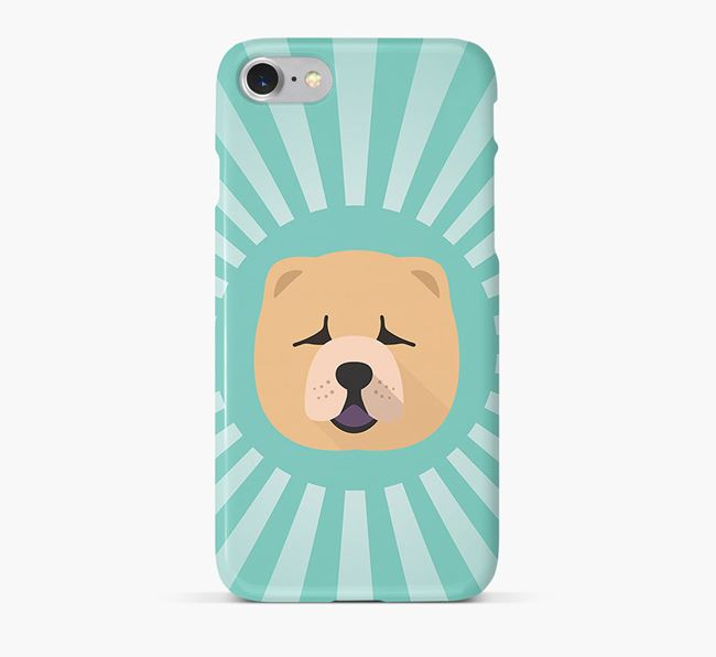 Chow Chow Rays Phone Case