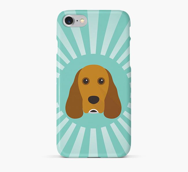 Cocker Spaniel Rays Phone Case