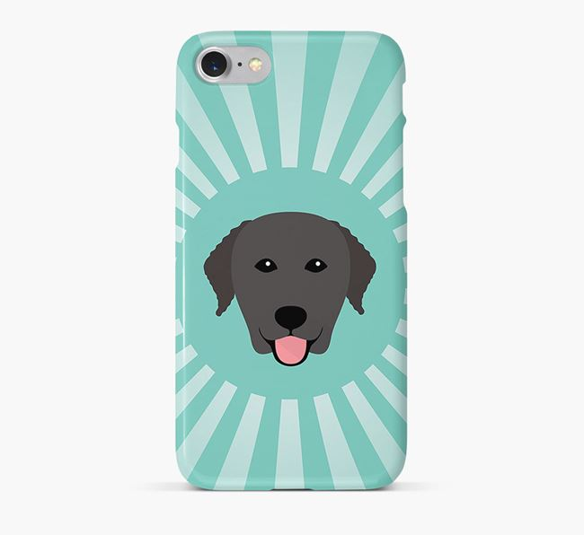 Curly Coated Retriever Rays Phone Case