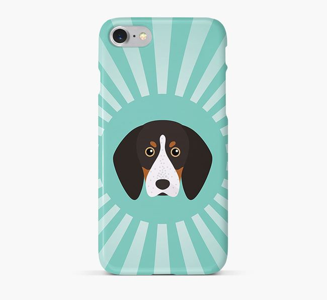 English Coonhound Rays Phone Case