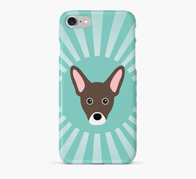 French Pin Rays Phone Case