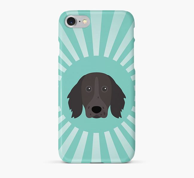 German Longhaired Pointer Rays Phone Case
