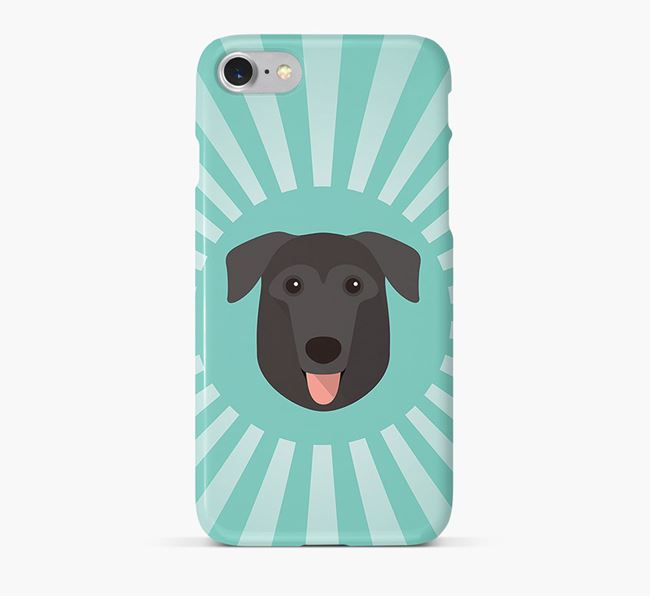 German Sheprador Rays Phone Case