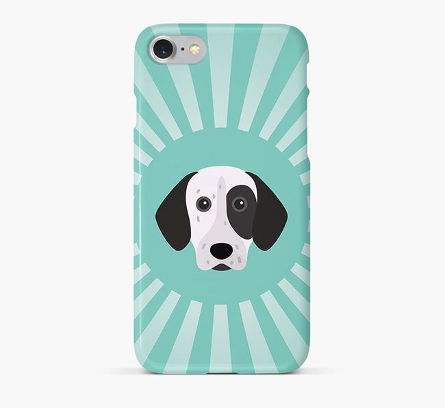 German Shorthaired Pointer Rays Phone Case