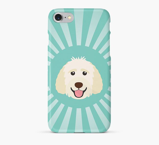 Goldendoodle Rays Phone Case