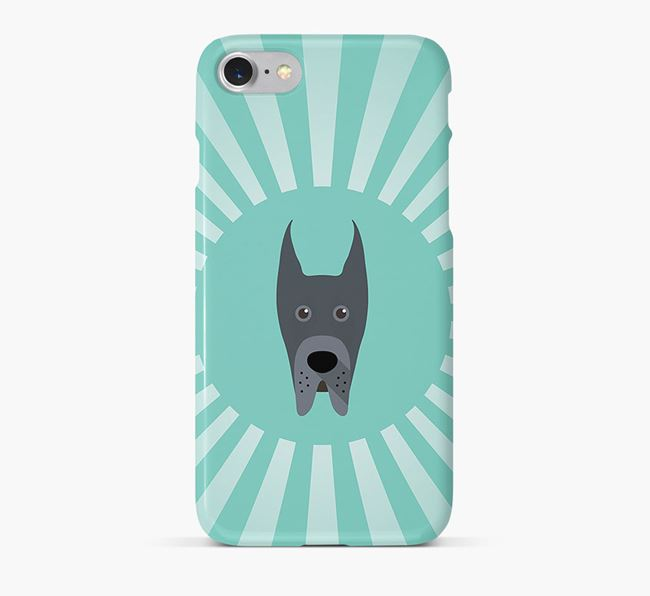 Great Dane Rays Phone Case