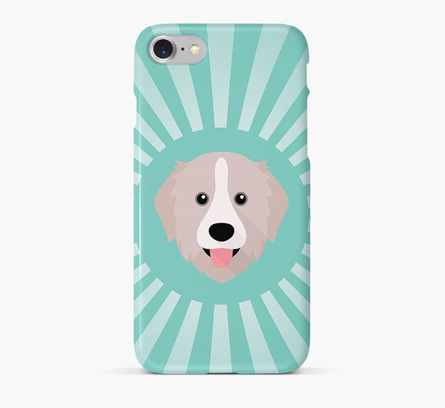 Great Pyrenees Rays Phone Case