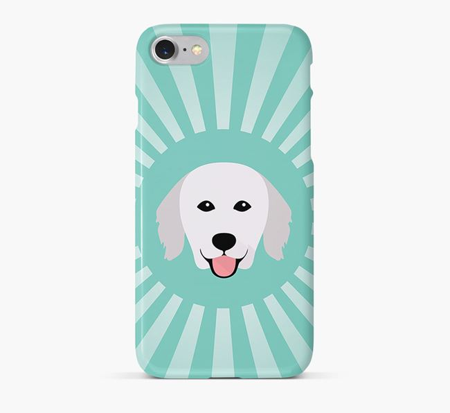 Hungarian Kuvasz Rays Phone Case